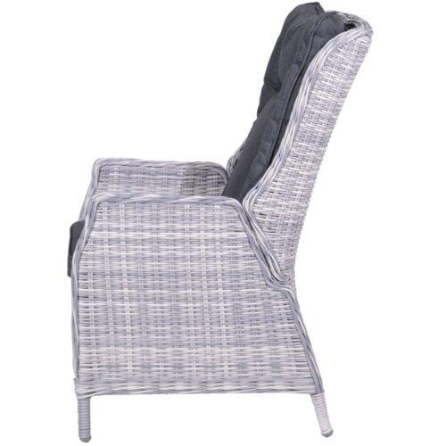 Osborne verstelbare fauteuil - Cloudy Grey