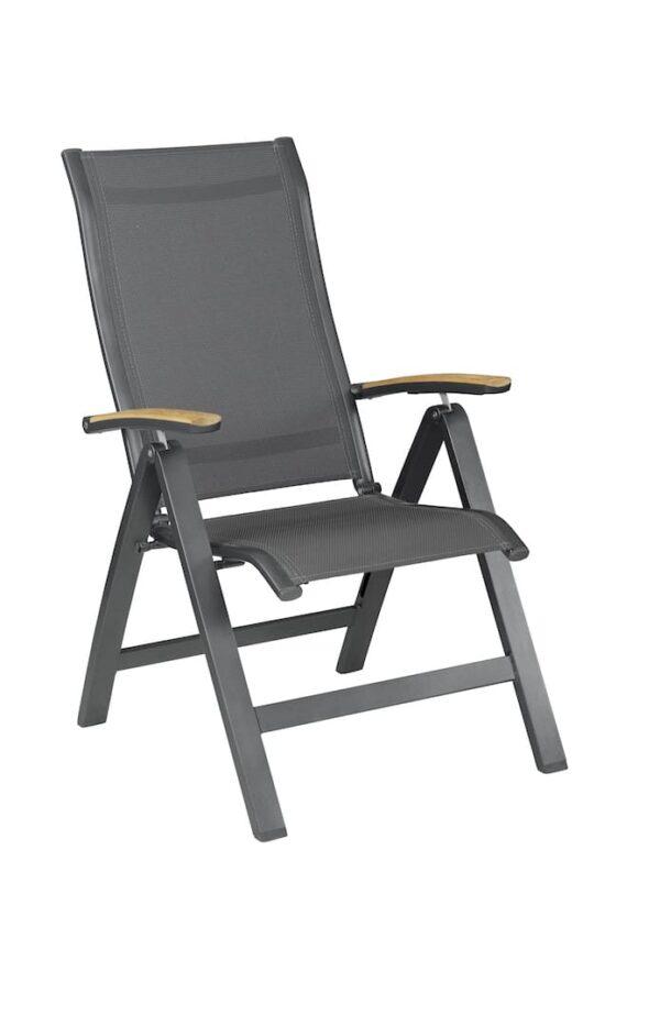 Altura verstelbare stoel - Teak leuning