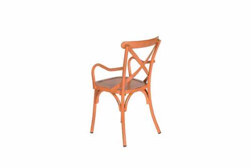 Garden Impressions Louise stoel oranje