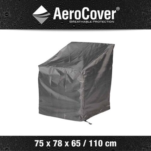 AeroCover Loungestoelhoes hoge rug XL hoes 75x78x65/110