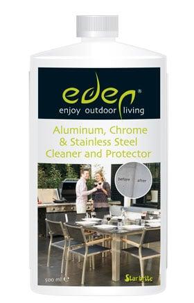 Eden aluminium-chroom-rvs cleaner beschermer