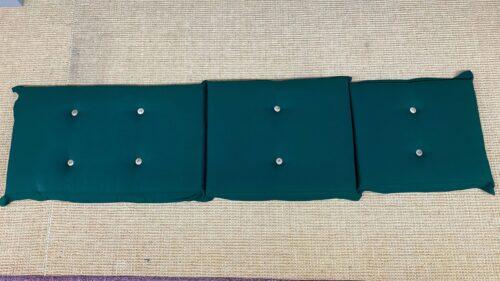 Deckchair kussen groen