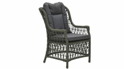 Garden Impressions Excellence dining fauteuil rope moss groen